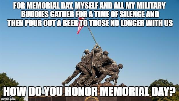 Memorial Day Meme 2018